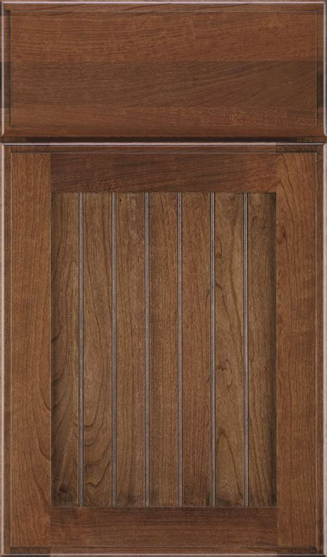 beadboard kitchen cabinet doors mink cabinet stain on cherry decora cabinetry 4374