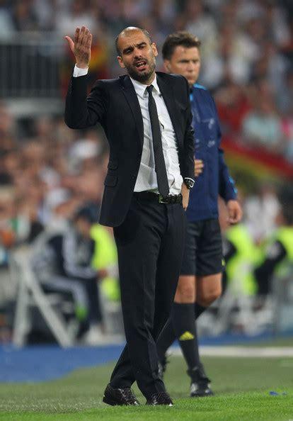Pep Guardiola - Pep Guardiola Photos - Real Madrid v ...