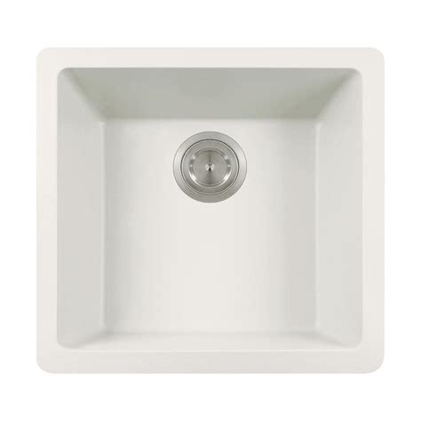 mr direct kitchen sinks reviews mr direct dualmount granite composite 18 in single bowl 7049