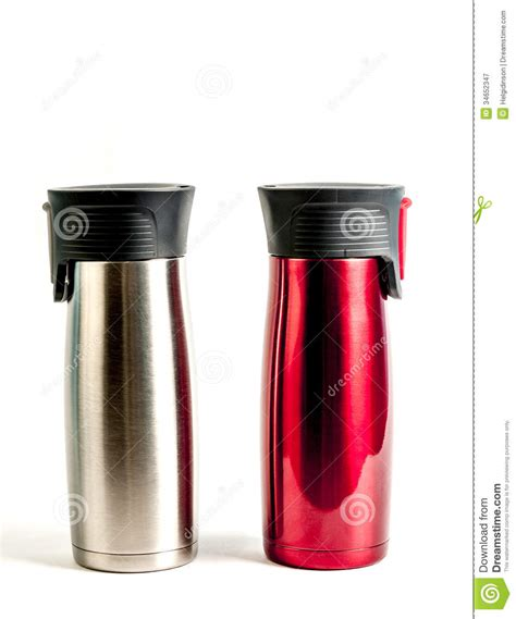 Stainless Steel Coffe Thermos Royalty Free Stock Photography   Image: 34652347