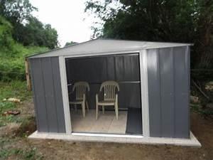 Sur Quoi Poser Un Abri De Jardin : abri de jardin naterial les cabanes de jardin abri de ~ Dailycaller-alerts.com Idées de Décoration