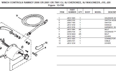 1982 jamboree parts winch