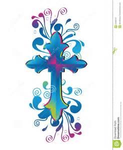 Decorative Crosses Clip Art