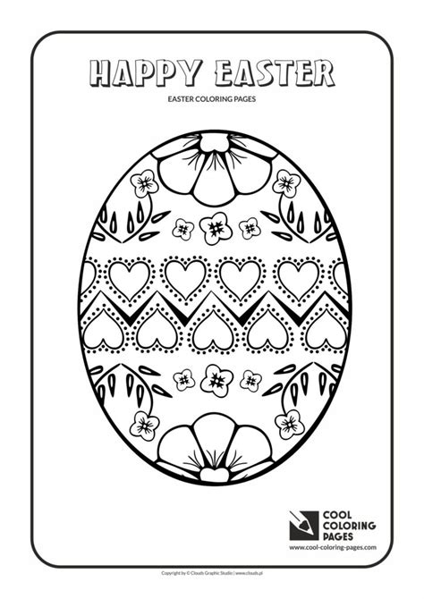 cool coloring pages easter egg   coloring page cool coloring pages  educational