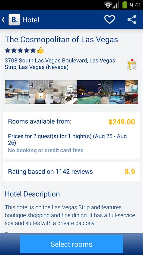 Booking.com - 550.000+ Hotels: Amazon.de: Alle Produkte