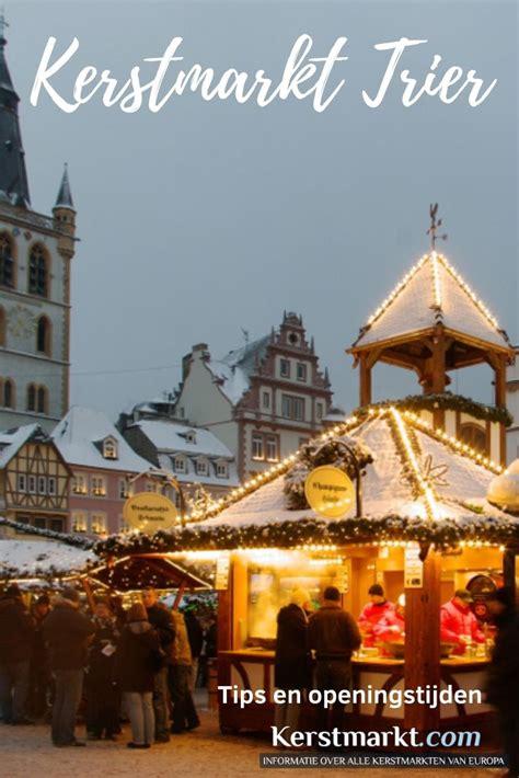 Kerstmarkt Trier - Data en Openingstijden 2020