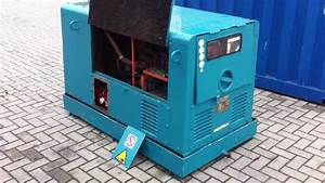 Dpx Power  Denyo 12 5 Kva Generator Set  Dpx-1197