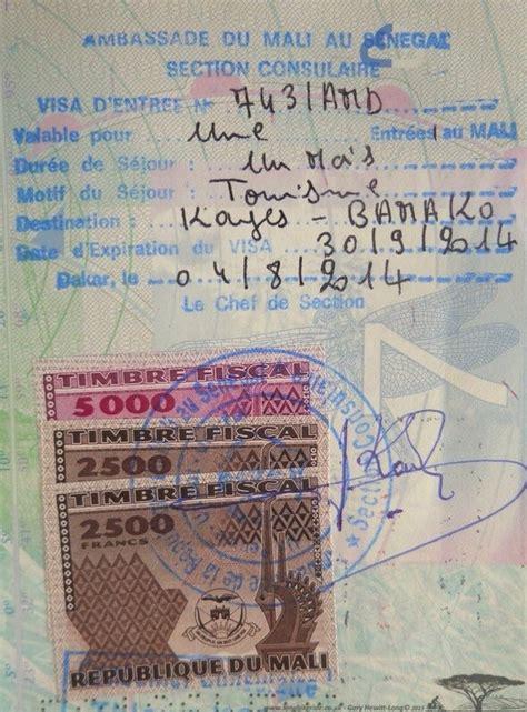 burkina faso visa application form visas on tour long bike ride