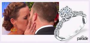 watch a tearjerking wedding featuring parade design rings With rachael ray wedding ring