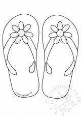 Flip Flop Flops Coloring Flower Daisy Button Printable Colouring Sheets Wickedbabesblog Lovely Stencil Adult Cat Patterns Coloringpage Eu sketch template