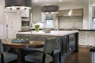 kitchen islands that seat 4 center island with back side bench seating