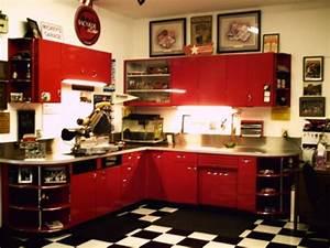 organisez votre atelier et ameliorez le rangement du garage With kitchen colors with white cabinets with car metal wall art