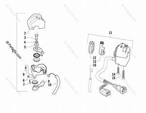 Arctic Cat Atv 2006 Oem Parts Diagram For Throttle Case