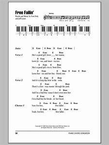 Free Fallin U0026 39  Sheet Music By Tom Petty  Lyrics  U0026 Piano