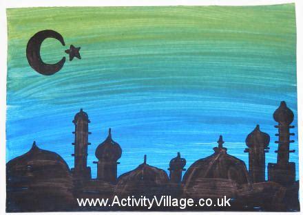 eid silhouette picture