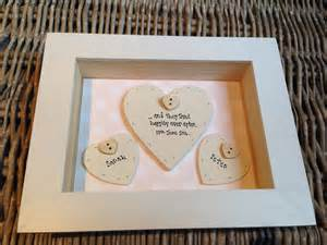 gift for on wedding day shabby personalised chic box frame gift for groom on wedding day present