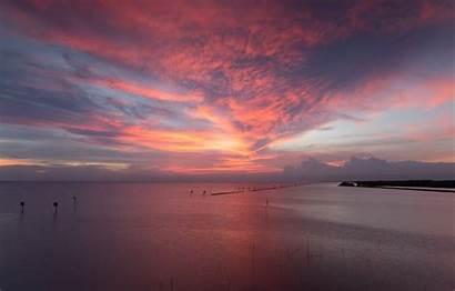 Sunset Sand Sea Seascape Wave Picked Carefully