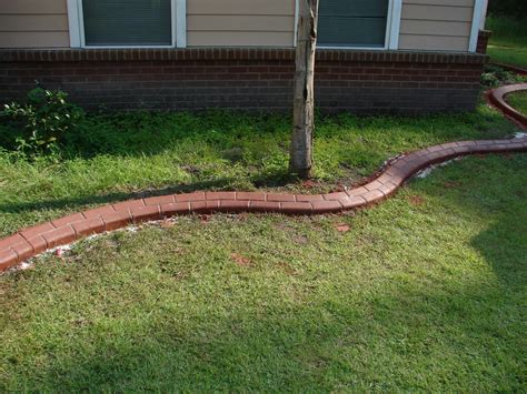 Garden Decorative Bricks by Landscape Edging Brick 1 Brick Lawn Edging