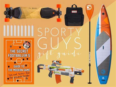 christmas gift guide for sporty guys women s health