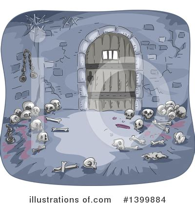 dungeon clipart  illustration  bnp design studio