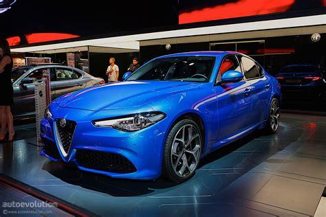Alfa Romeo Giulia Veloce Bows In Paris In Stunning Blue
