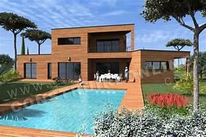 Maison Architecte Plan : vente de plan de maison d 39 architecte ~ Dode.kayakingforconservation.com Idées de Décoration
