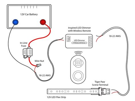 12 Volt Light Wiring Diagram by Boat Wiring Diagrams Schematics Also 12 Volt Led Light