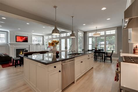 house plans open concept modern bungalow traditional kitchen minneapolis by