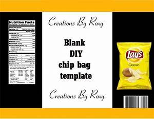 How Do I Print Labels In Word Diy Chip Bag Template Templates Printable Free Label