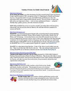 Printables. Nutrition Worksheets For Middle School ...