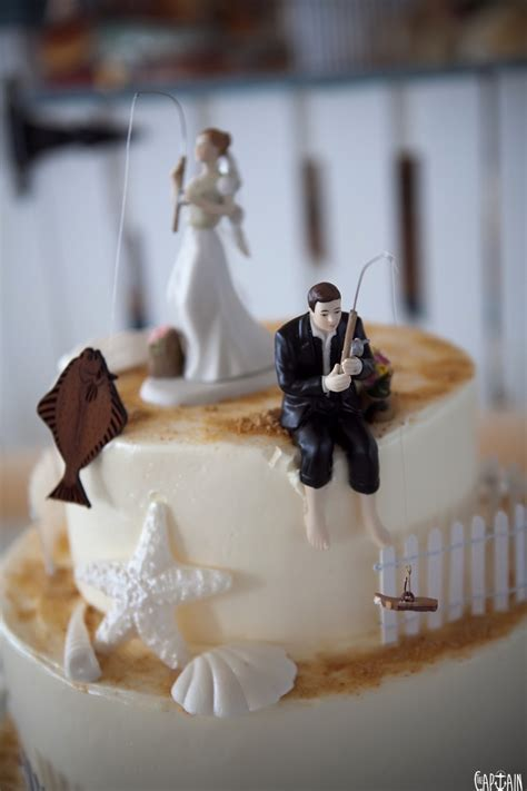 wedding top cake sly fisherman how to secret spots the captain 1199