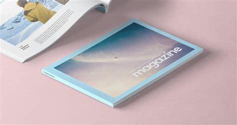 landscape psd magazine mockup psd mock  templates