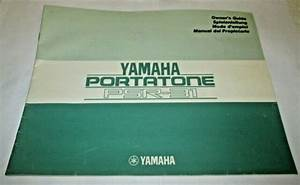Yamaha Keyboard Portatone Psr 31 Original Manual Owner U0026 39 S