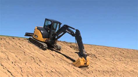 john deere compact excavator safety tips youtube