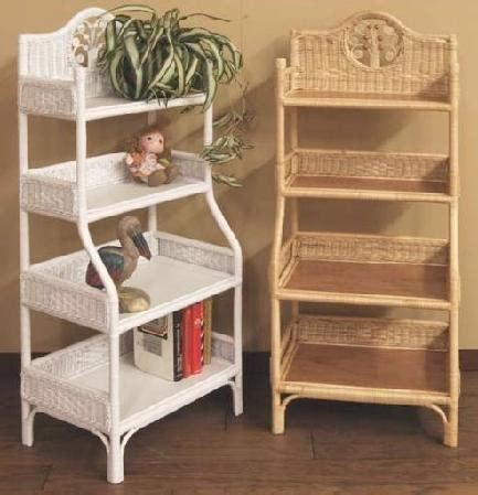 Wicker Shelves Wicker Bathroom Storage