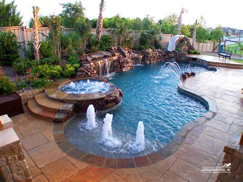 youre gonna    big backyard pool designs