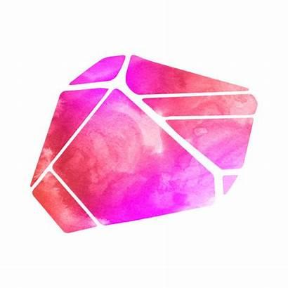 Crystal Illustrations Rock Clip Stone Vector Magic