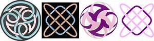 Celtic Knots Colorization based on Color Harmony Principles