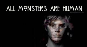 All monster are... Monster Human Quotes