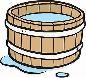 Bucket Of Water Clipart - ClipartXtras