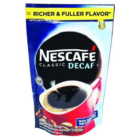 Ever wonder how decaf coffee is made? Nescafe Decaf Coffee 160 gram - Bohol Online Store