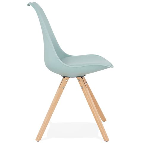chaise bleue chaise scandinave gouja bleue chaise design