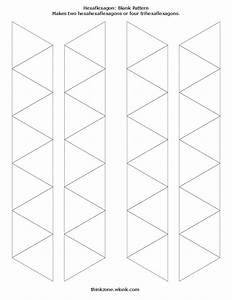 Blank and decorated hexahexaflexagon template free download for Hexahexaflexagon template