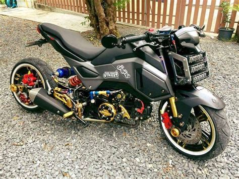 2017 Honda Grom / Msx Lowered & Stretched Motorcycle