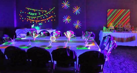 Neon Party Ideas, Neon Themed Birthday Party Ideas