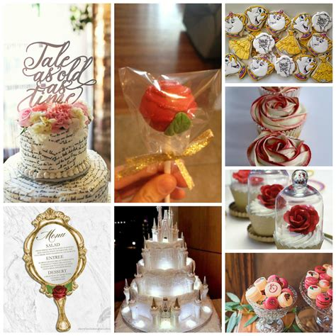 Beauty and the Beast Wedding Theme Perfect Details