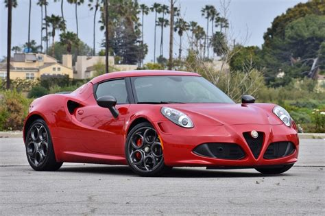 6 600 mile 2015 alfa romeo 4c launch edition for sale on