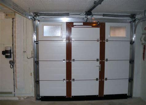 porte de garage avec portillon integre leroy merlin sectionnelle plafond fournier automatisme