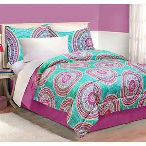 latitude medallion bedding comforter set walmart com