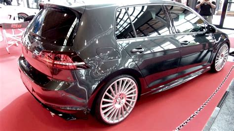 vw golf 7 tuning vw golf 7 gti rieger tuning